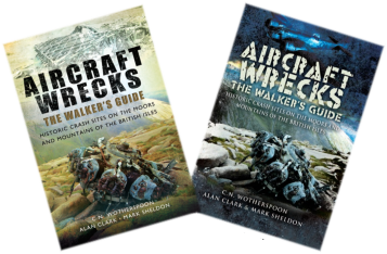 Aircraft Wrecks The Walkers Guide - Cover - Peak District Air Accident Research