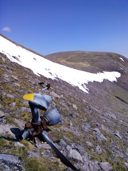 Propellers from Blenheim Z7356 on Braeriach