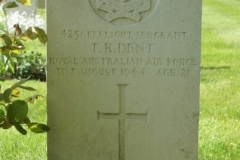 Grave of Flight Sergeant Terence Roy Dent