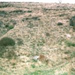 Crash site of P-38F 41-7669 near Burnley, Lancashire