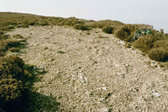 Crash site of Douglas C-47 41-7803 on Moel y Gaer, Llangollen, Wales