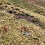 Crash site of Lockheed P-38 42-67859, Ochlon, Black Mountains
