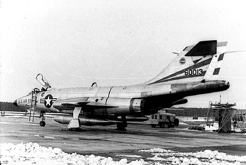 McDonnell F-101C Voodoo 56-0013 at RAF Bentwaters, Suffolk