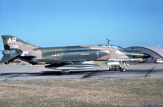 McDonnell RF-4C Phantom 64-1018 at RAF Alconbury