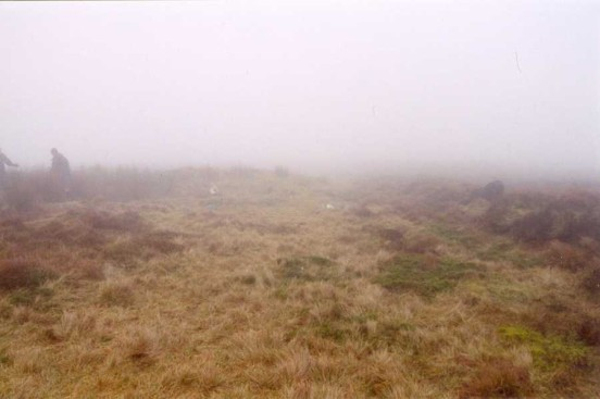 Crash site of Airspeed Oxford BM837 on Winter Hill, Bolton, Lancashire