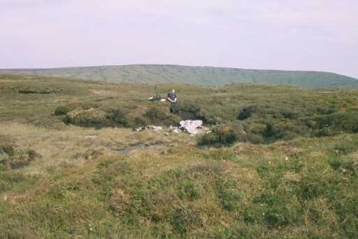 Crash site of Bristol Blenheim BA246, Bleasdale Fell, Lancashire