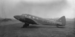 Airspeed Consul G-AHJY before being sold to Iceland as TF-RPM