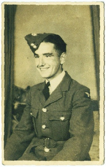Sergeant George Newton Rafferty, Wireless Operator of Vickers Wellington HE466
