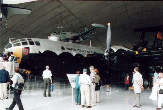 Boeing B-29 Superfortress at the American Air Museum, Duxford