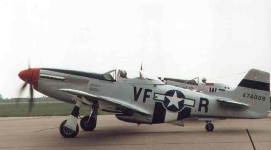 North American P-51D in the markings of the 4th FG, USAAF