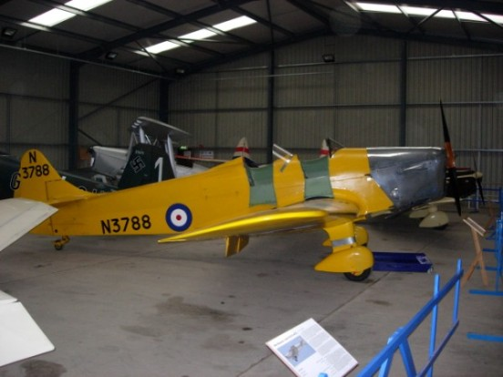 Miles Hawk Trainer at the Shuttleworth Collection
