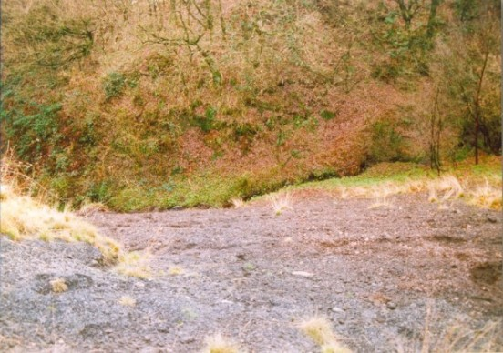 Crash site of Miles Master Mk.III W8474 at Mottram-in-Longdendale