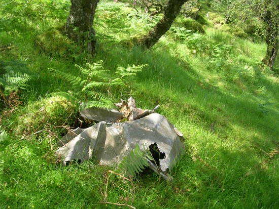 Wreckage from Consolidated Catalina AH533, Cruach na Seilcheig, Jura