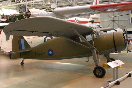 Fairchild Argus at the Royal Air Force Museum, Cosford