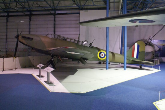 Fairey Battle Mk.I at the Royal Air Force Museum
