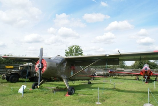 de Havilland Canada Beaver at the Midland Air Museum, Coventry