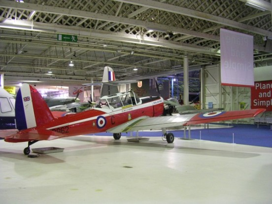de Havilland Canada Chipmunk T. Mk.10 at the Royal Air Force Museum, Hendon