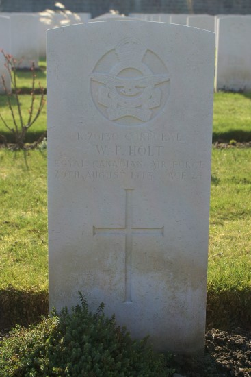 Grave of Corporal William Phillip Holt at Harrogate Stonefall Cemetery