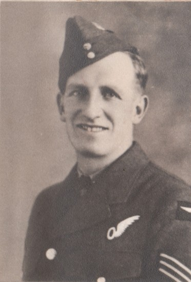 Flight Sergeant George Edward Derbyshire, killed onboard Vickers Wellington Mk.IC DV600