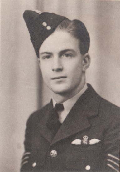 Flight Sergeant William Bruce Sage, killed onboard Vickers Wellington Mk.IC DV600
