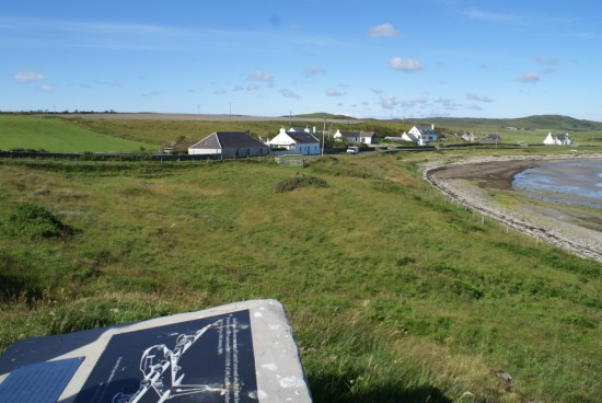 Crash site of Sunderland DV979 at Black Rock, Islay