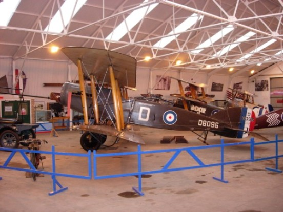 Bristol Fighter at the Shuttleworth Collection
