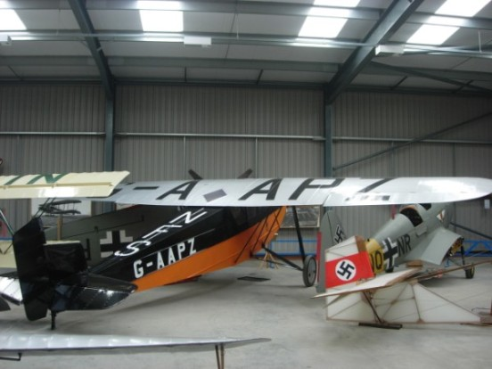 Desoutter G-AAPZ at the Shuttleworth Collection, Bedfordshire