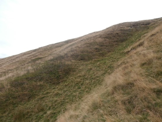 Crash site of Cessna G-BFRP on Broadlee Bank Tor above Edale