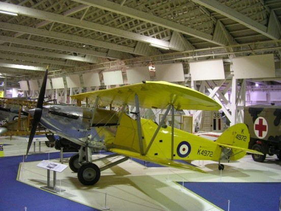 Hawker Hart at the Royal Air Force Museum Hendon