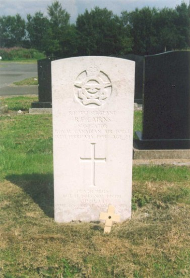 Grave of Sergeant Richard Foote Cairns at Buxton Cemetery, Derbyshire