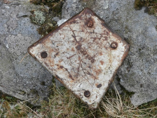 Crash site of Hawer Hurricane L1670 on Ravenseat Moor, Whitsun Dale, Keld, North Yorkshire