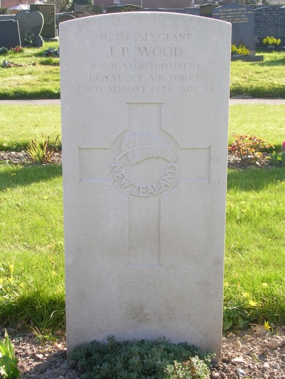 Grave of Aircraftman 1st Class Andrew Smyth at Caernarfon Cemetery, killed in Blackburn Botha L6318 on Tal-y-Fan, Snowdonia