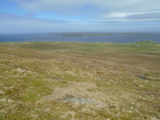 Crash site of Bristol Blenheim Mk.IV L9261 on Sandness Hill, Walls, Shetland