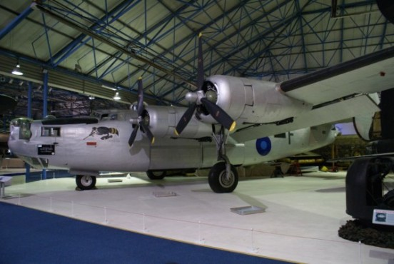 Consolidated B-24 Liberator at the RAF Museum