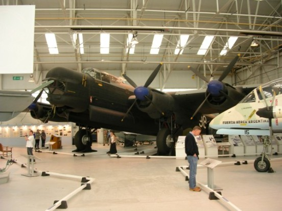 Avro Lincoln at the Royal Air Force Museum, Cosford
