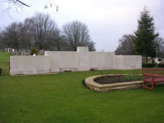Commemoration of Sergeant Charles David Howes at Camberwell New Cemetery, London