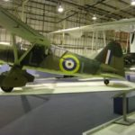 Westland Lysander at the Royal Air Force Museum