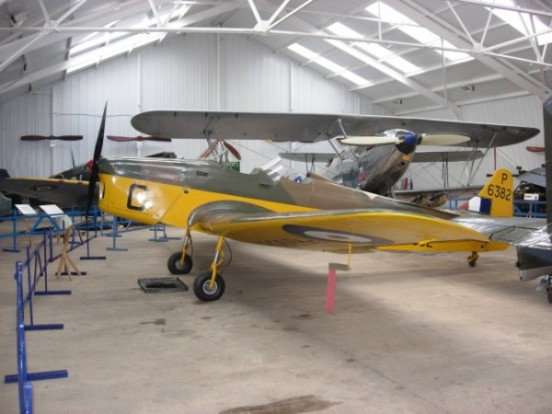 Miles Magister at the Shuttleworth Collection