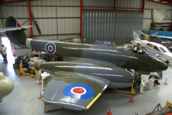 Gloster Meteor F. Mk.4 at the MIdland Air Museum, Coventry