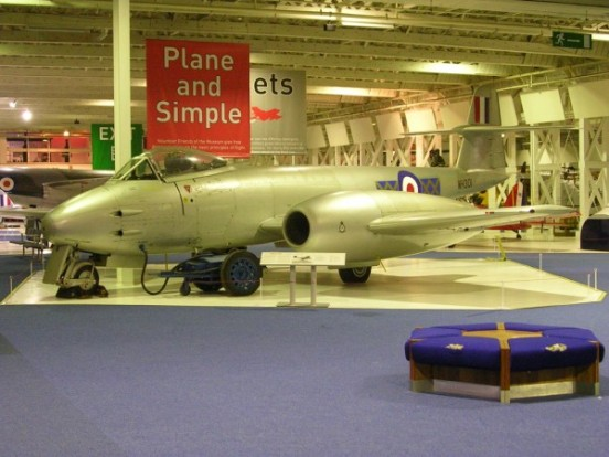 Gloster Meteor F. Mk.8 at the RAF Museum, Hendon