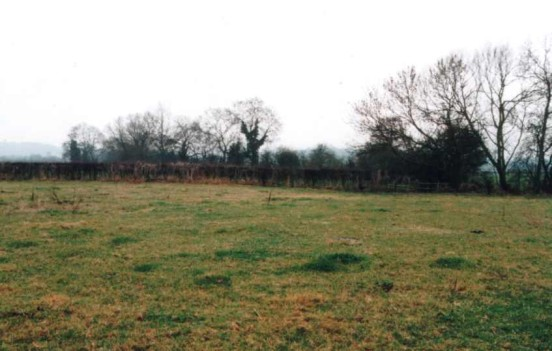 The crash site of Vickers Wellington MF584 near Marchington, Staffordshire