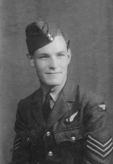 Sergeant Francis Alfred William Blerkom, killed in Avro Lancaster Mk.III PB456 on Conic Hill near Loch Lomond