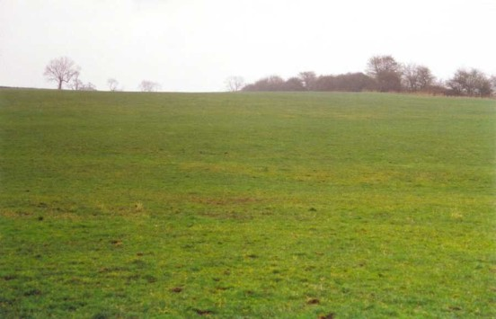 Crash site of de Havilland Hornet PX244 at Radbourne, Derbyshire