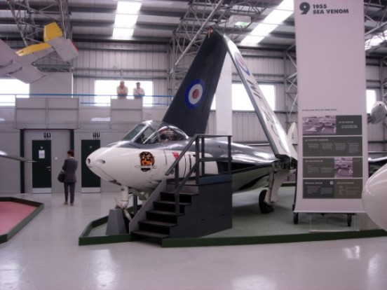 Hawker Sea Hawk at the Museum of Flight, East Fortune