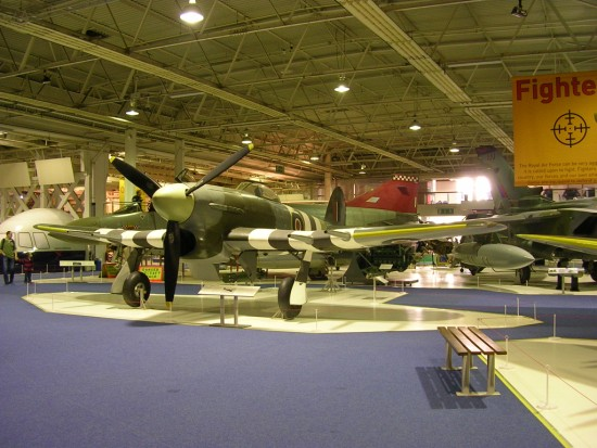 Hawker Typhoon at the RAF Museum, Hendon