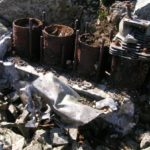Gipsy Major engine at the crash site of de Havilland Queen Bee V4793 on Clogwyn Du'r Arddu, Snowdon