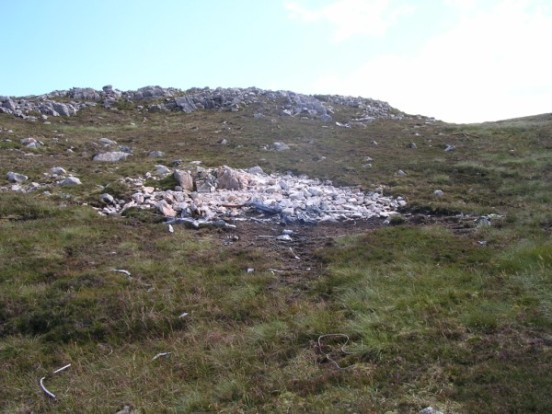 Crash site of Fairey Firefly WB336 on Beinn Uraraidh, Isle of Islay