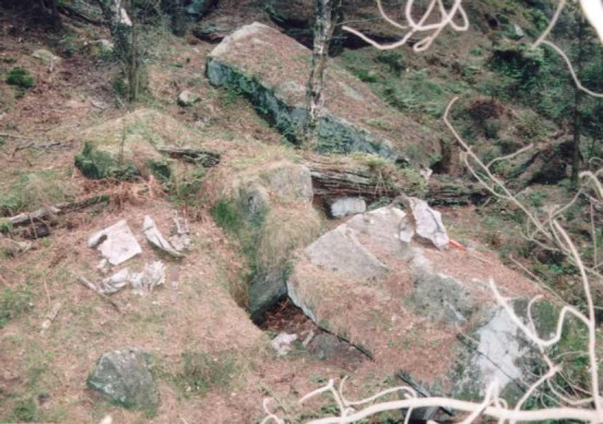 Crash site of Armstrong Whitworth Whitley Z6663
