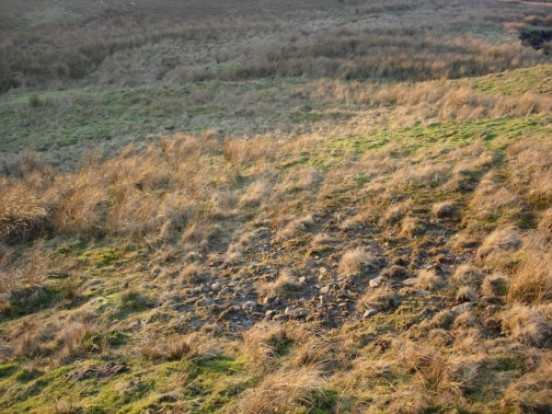 Crash site of Panavia Tornado ZE858 on Stainmore Common