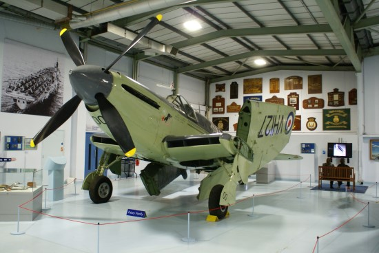 Fairey Firefly T.T. Mk.4 at the Fleet Air Arm Museum, RNAS Yeovilton